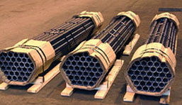 Carbon Steel Pipes and Seamless Pipes Packaging