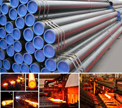 Carbon Steel Pipes and Seamless Pipes Manufacturers